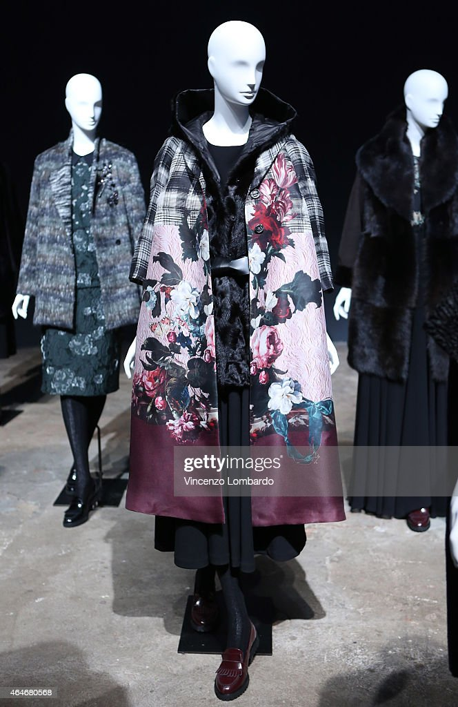 clothes displayed during the
