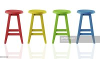 Colorful Stools Stock Photo | Getty Images