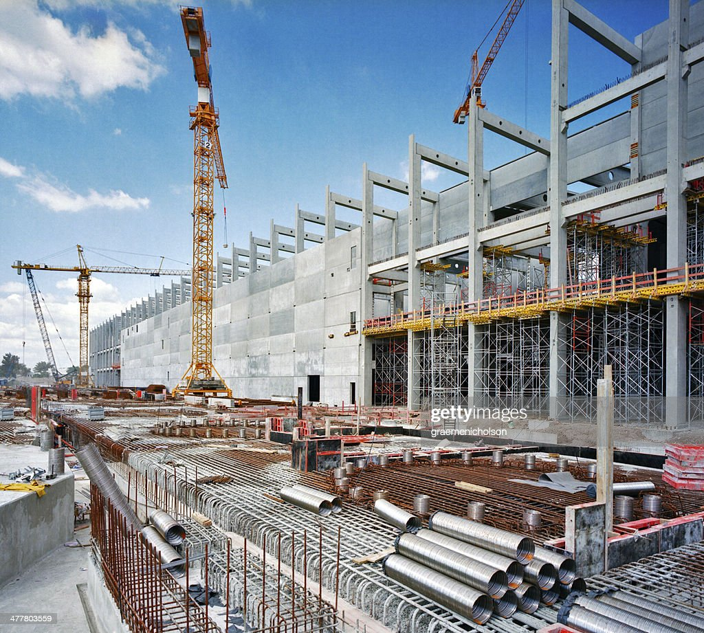 Construction Site Stock Photos and Pictures  Getty Images