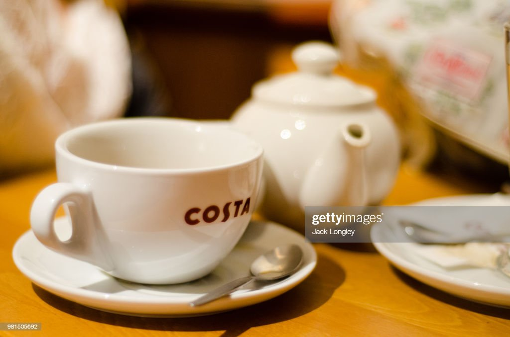 costa coffee stock photo