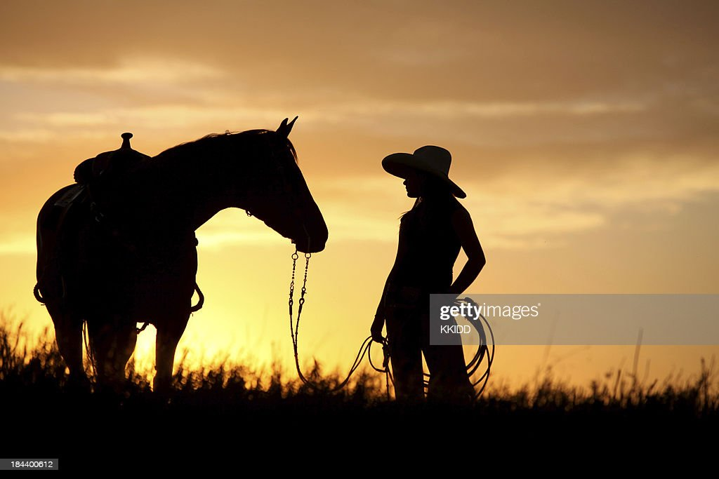 The Yellow Wallpaper John Quotes Son Cheval De Cowgirl Marchant Photo Getty Images