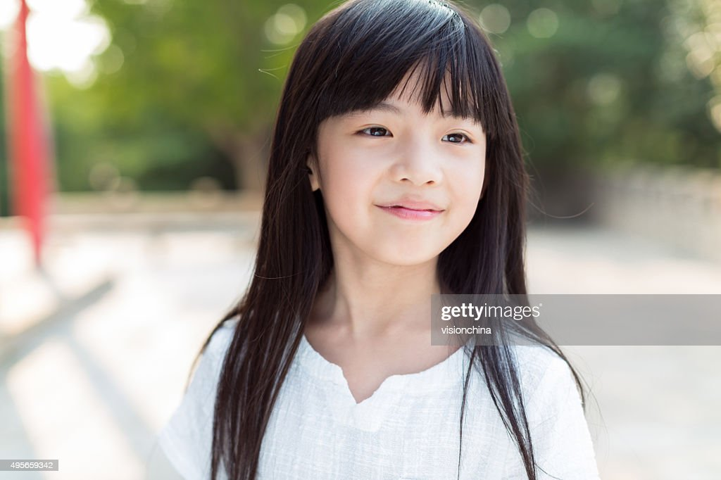 cute little chinese girl