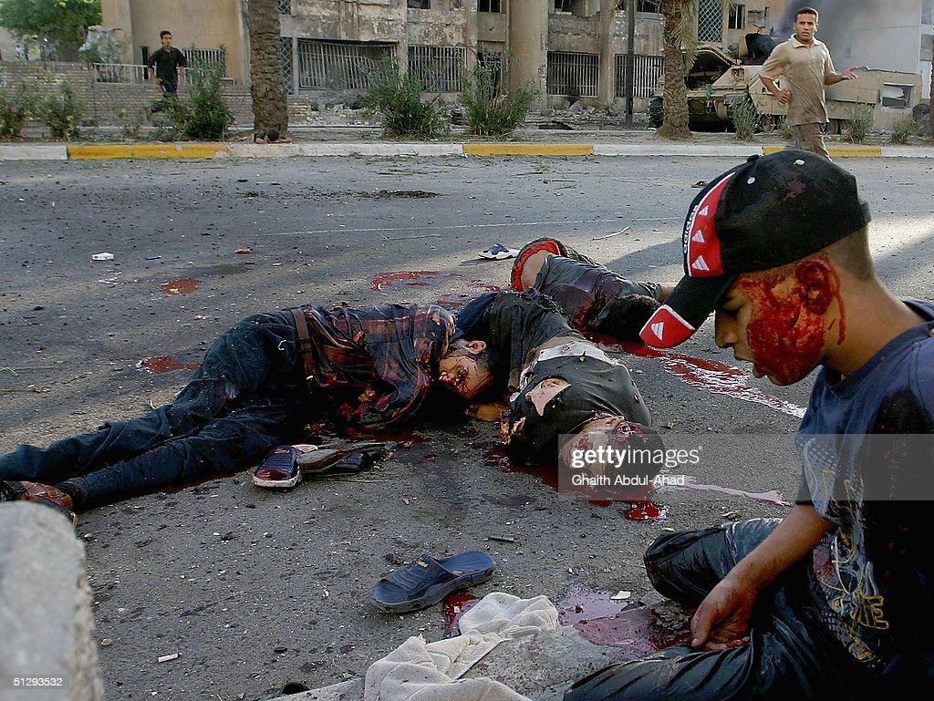 Civilians Killed As Dawn Battle Erupts In Baghdad Photos