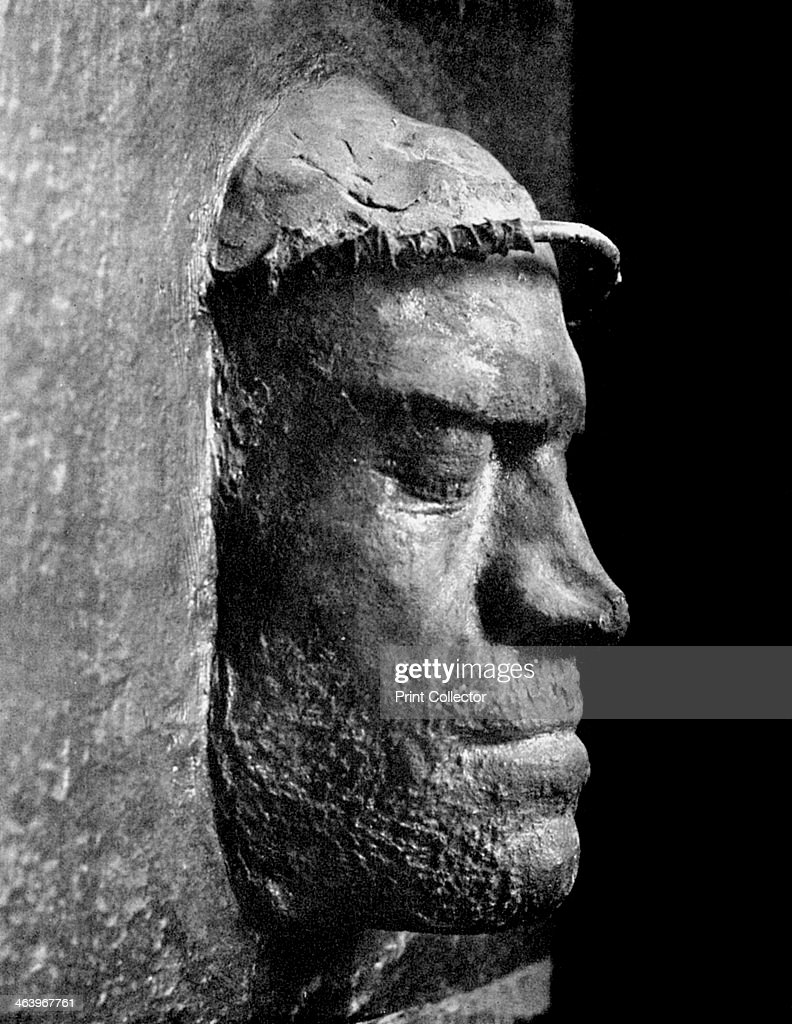 Death Mask Of Lorenzo De Medici Ruler Of Florence 1492