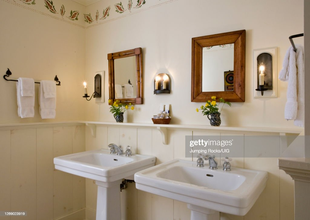 double pedestal sinks high res stock photo getty images