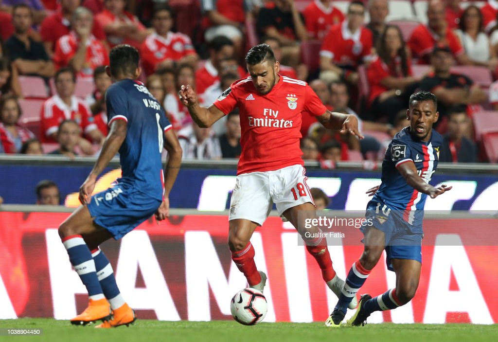 Eduardo Salvio of SL Benfica in action during the Liga NOS match... News Photo - Getty Images