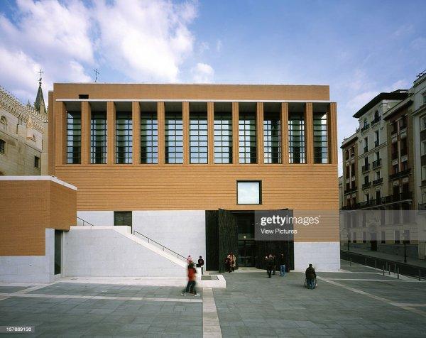 El Prado Museum Madrid Spain Architect Rafael Moneo Prado. Getty