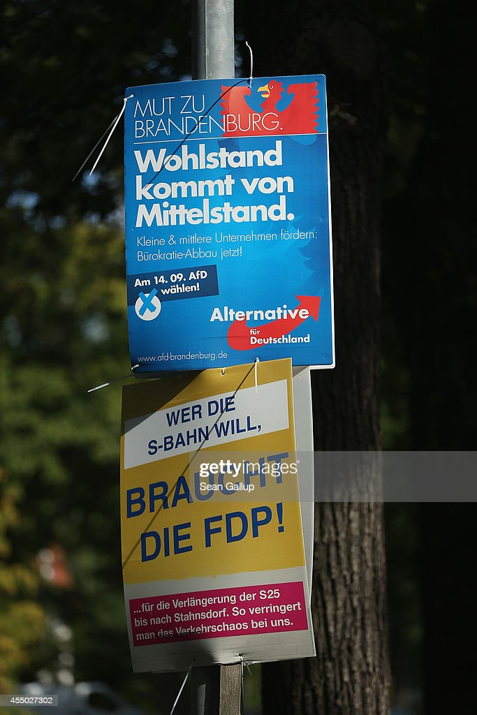 election campaign posters of