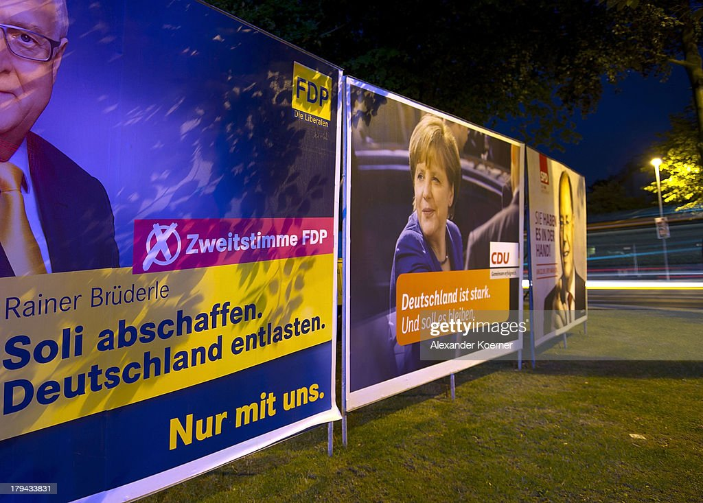 election campaign posters sponsored