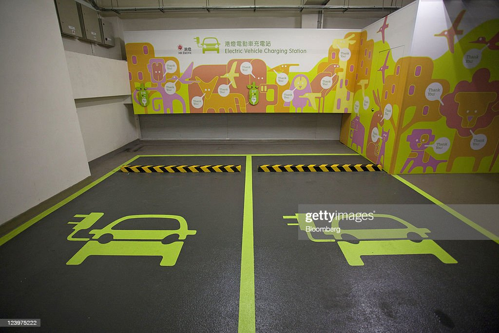 Electric Vehicle Charging Stations In Hong Kong | Getty Images