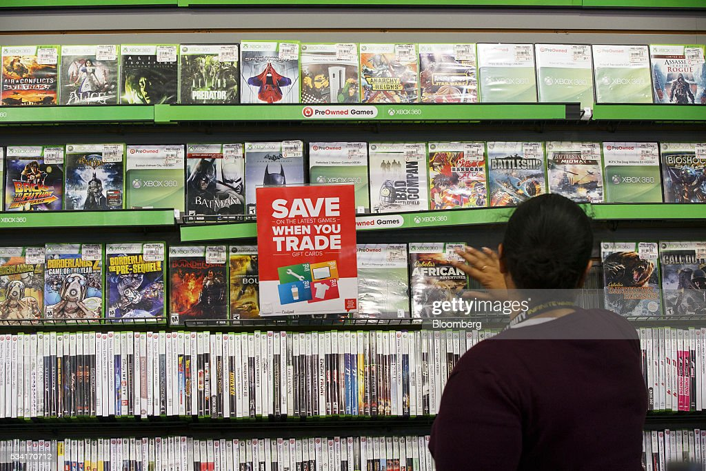 Inside A Gamestop Corp Store Ahead Of Earnings Figures