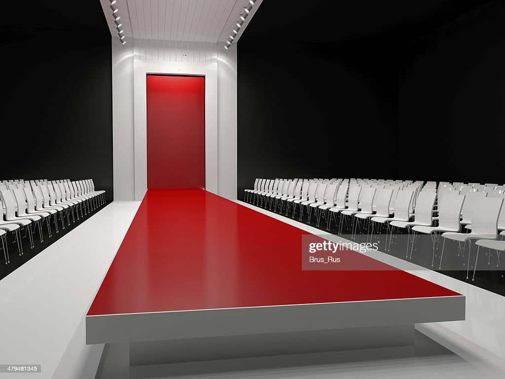 Roter Teppich Wallpaper Leere Roter Teppich Fashion Runway Stock Foto Getty Images
