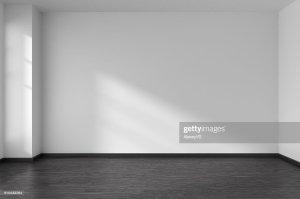 empty walls floor muren witte corner parquet hardwood angle window hoek zwarte parketvloer ruimte lege interior istock sunlight closeup classic