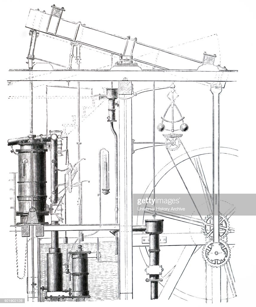 engraving depicting james watt s steam engine james watt a scottish displaying 15 gallery images for simple steam engine diagram [ 857 x 1024 Pixel ]