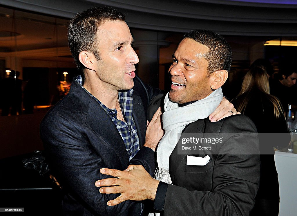 Equinox CEO Harvey Spevak and Benny Medina attend as famed American... News Photo - Getty Images