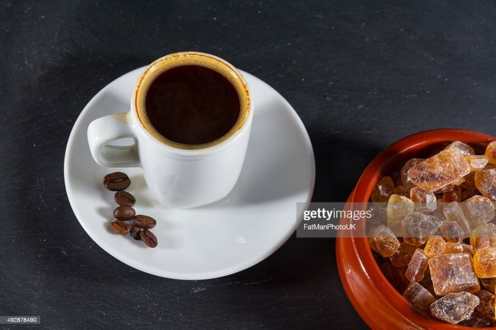 expresso coffee with beans