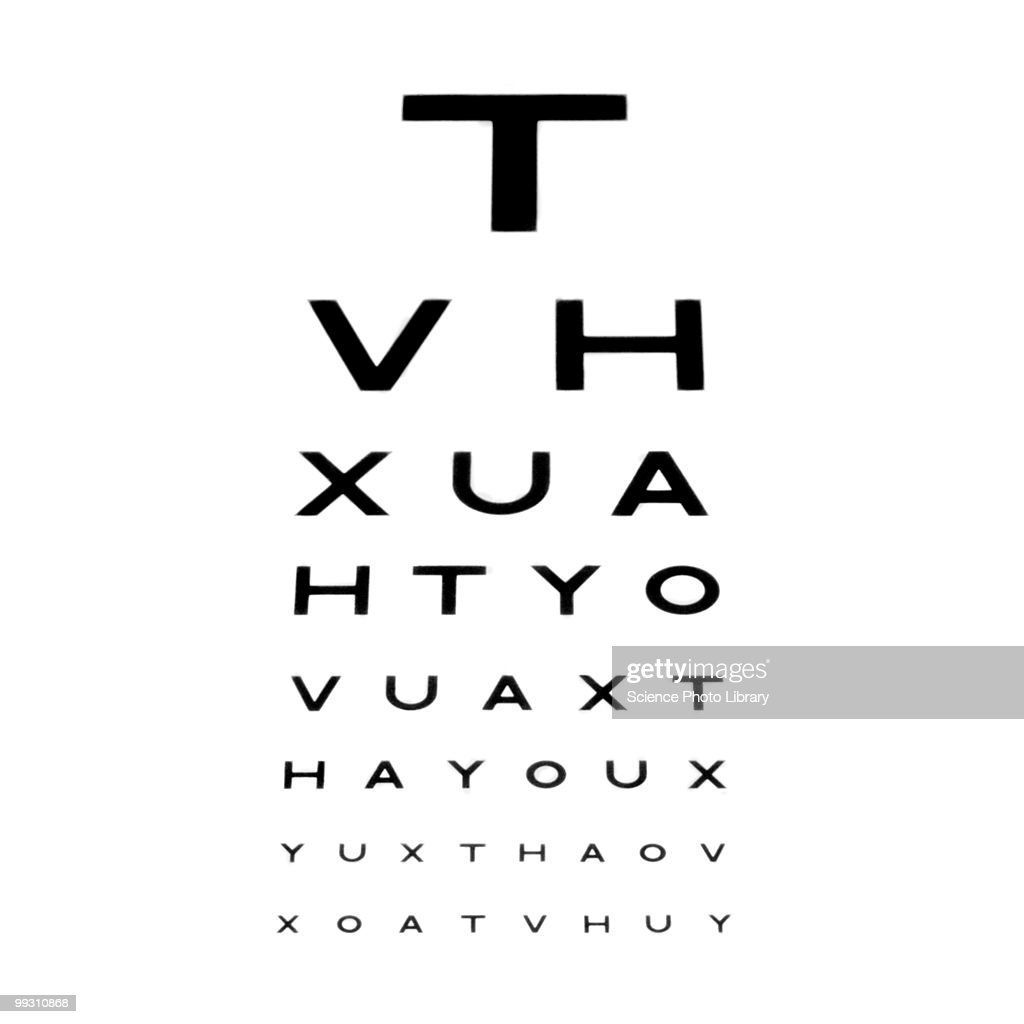 Eyesight test chart also eye stock photos and pictures rh gettyimages