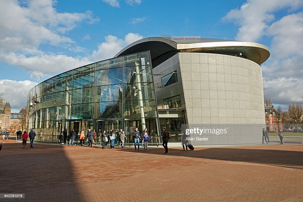 Facade Of Amsterdams Van Gogh Museum High-Res Stock Photo - Getty Images
