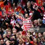 Fans Show Their Support During The Betfred Super League