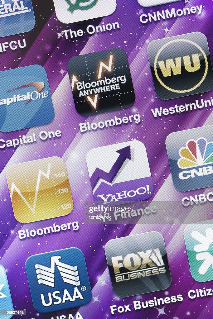 Yahoo Finance Logo : yahoo, finance, 1,635, Yahoo, Finance, Photos, Premium, Pictures, Getty, Images