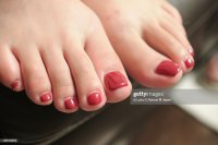 Foot Nail Stock Photo | Getty Images