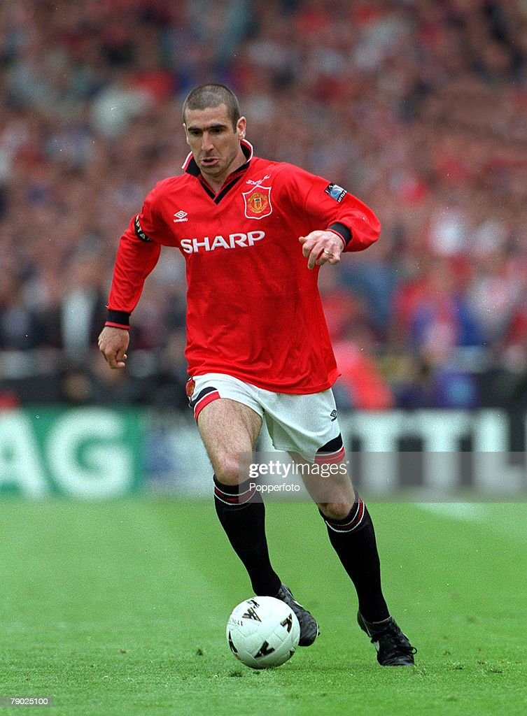Eric cantona says the goal he scored for manchester united against liverpool in the fa cup final in 1996 was the best of his career. Football, 1996 FA Cup Final, Wembley, 11th May Manchester ...