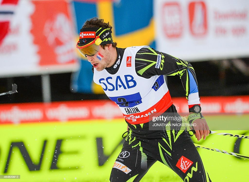 France's Adrien Backscheider competes in the men's 4x10 km... News