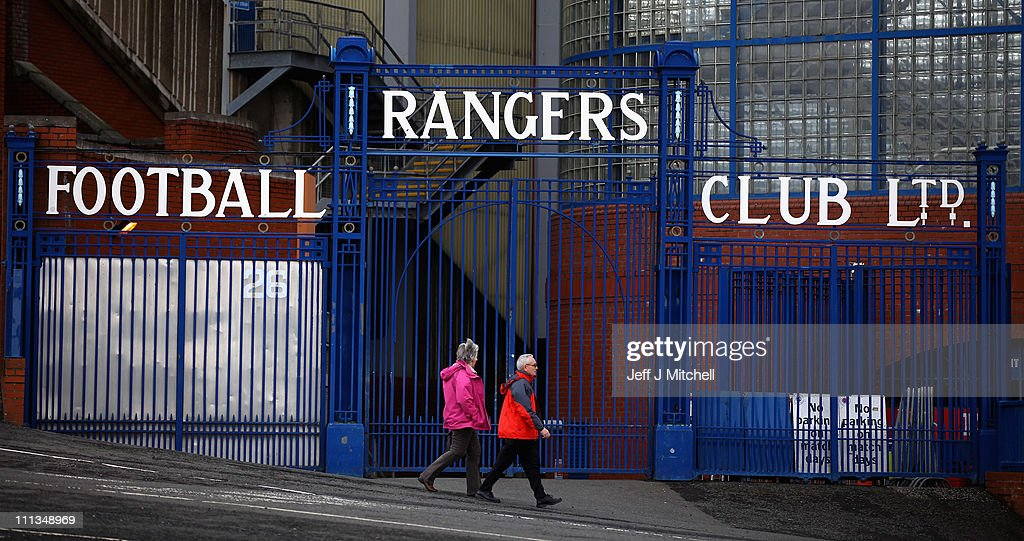Ibrox Stadium Stock Photos And Pictures Getty Images