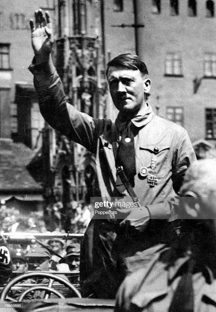 Hitler Giving A Speech Stock Photos and Pictures   Getty Images