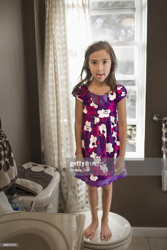 Girl Toilet Stock Photos and Pictures  Getty Images