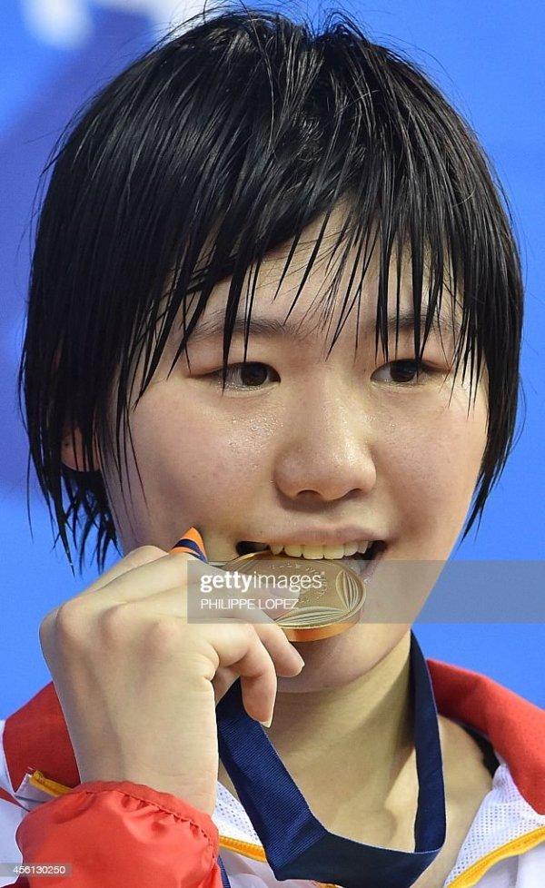 Ye Shiwen Getty Images