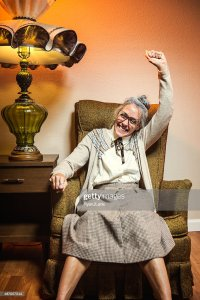 Old Woman Rocking Chair Stock Photos and Pictures | Getty ...