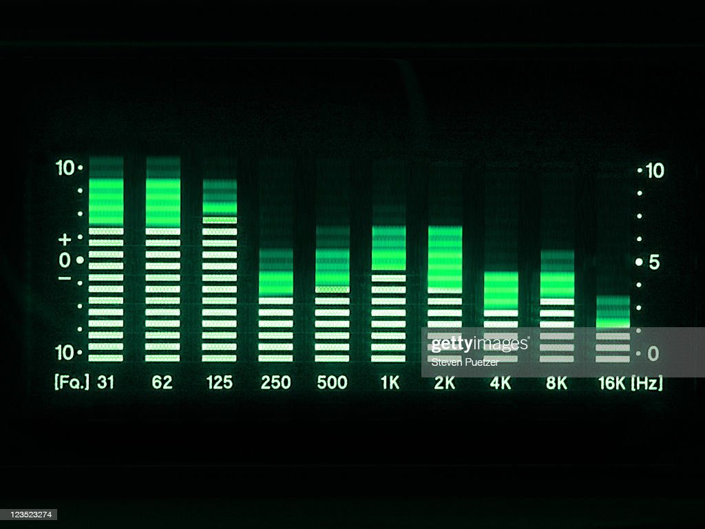Animated Wallpaper For Kenwood Car Stereo Graphic Equalizer Led Lights Stock Photo Getty Images