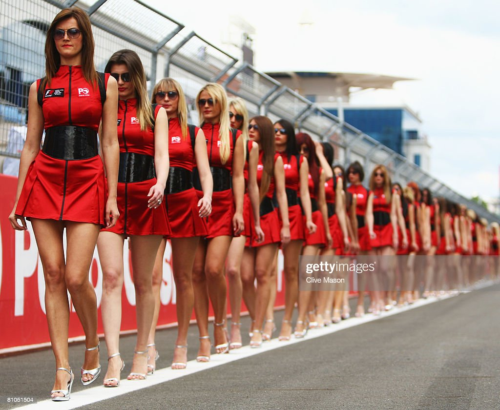 Grid Girls Stock Photos and Pictures  Getty Images
