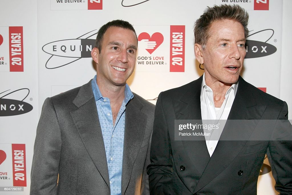 Harvey Spevak and Calvin Klein attend EQUINOX Soho Opening To Benefit... News Photo | Getty Images