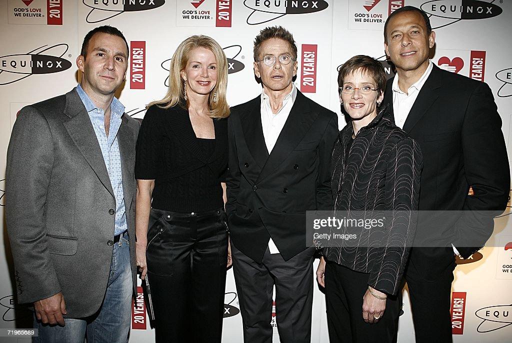 Harvey Spevak. CEO of Equinox. Blaine Trump. Calvin Klein. Nancy... News Photo | Getty Images