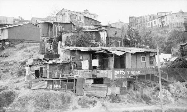 Hillside slum Valparaiso Chile Pictures Getty Images