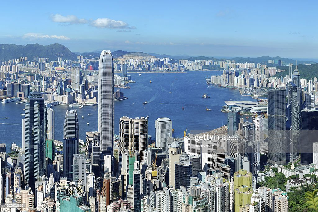 Hong Kong Victoria Harbor At Day High-Res Stock Photo - Getty Images