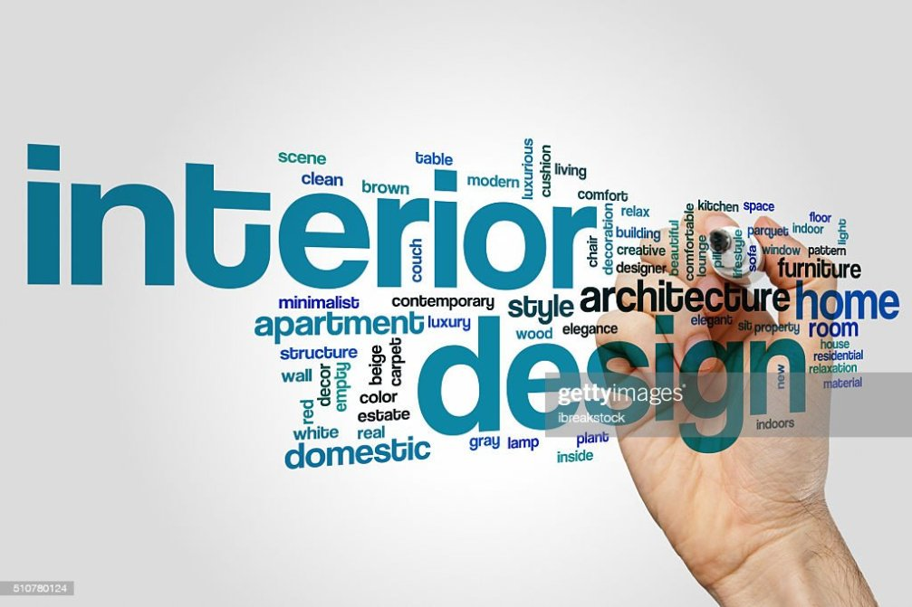 Interior Design Word Cloud Concept Stock Photo Thinkstock