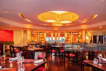 Fine Dining Fancy Restaurant Interior