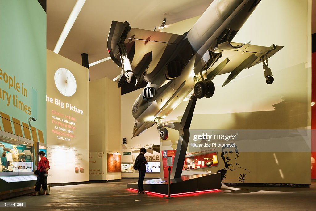 Interior Of Imperial War Museum North Stock Photo Getty