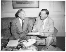Interview 16 August 1951. Lieutenant Governor Goodwin