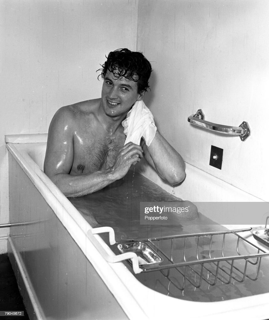 Ireland American actor Rock Hudson is pictured taking a