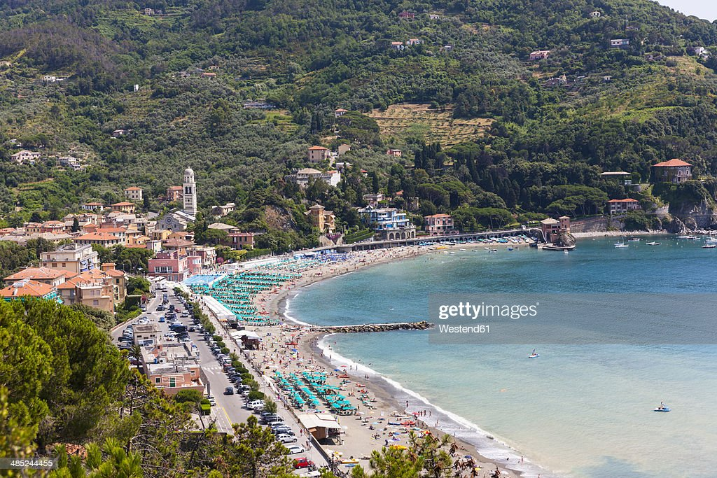 Italy Liguria La Spezia Cinque Terre Levanto Stock Photo