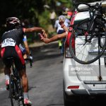 Jamal Hibatullah Of Kfc Cycling Team Indonesia Feeds During The Stage News Photo Getty Images