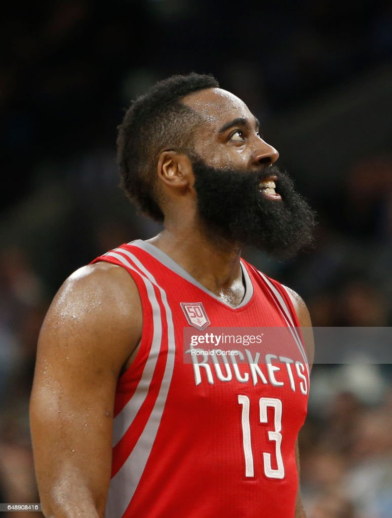 James Harden Teeth : james, harden, teeth, James, Harden, Houston, Rockets, Grits, Teeth, During, Game..., Photo, Getty, Images