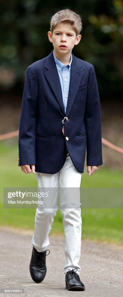 James. Viscount Severn attends day 4 of the Royal Windsor Horse Show... News Photo - Getty Images