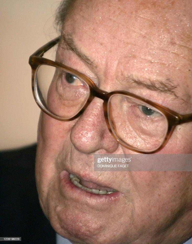 Jean Marie Le Pen Chirac : marie, chirac, Jean-Marie, Président, Front, National,, Donne, Une..., Nieuwsfoto's, Getty, Images