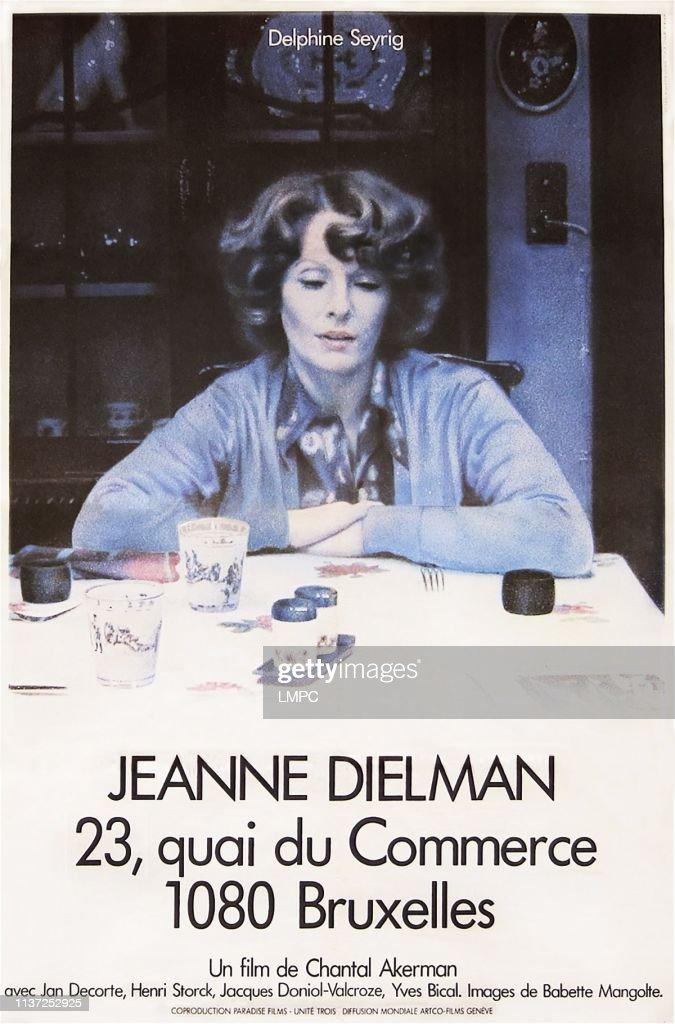 Jeanne Dielman, 23 Quai Du Commerce, 1080 Bruxelles : jeanne, dielman,, commerce,, bruxelles, Jeanne, Dielman,, Poster, COMMERCE,, BRUXELLES,, French..., Photo, Getty, Images