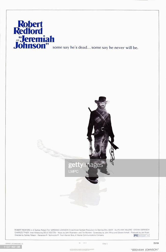 https www gettyimages com detail news photo jeremiah johnson poster us poster art robert redford 1972 news photo 1137163138